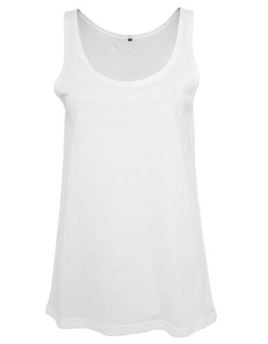 C Build Your Brand Ladies Tanktop Damen T Shirt Rundhals Ärmellos BY019