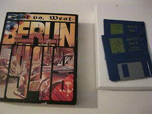 East Vs. West Berlin 1948 Atari St game complete Rainbow Arts