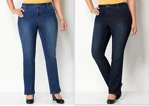 d709c7b992c7f NWT CJ BANKS CHRISTOPHER BANKS TALL CLASSIC FIT STRAIGHT LEG JEANS ...