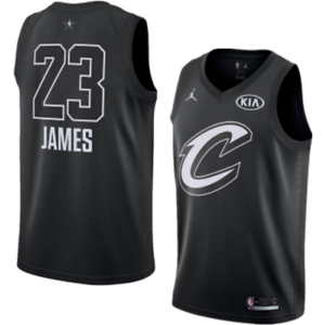 new product 7b5fe 076f8 Details about Lebron James 2018 All-Star Game Jordan Jersey Cleveland  Cavaliers 928867 010