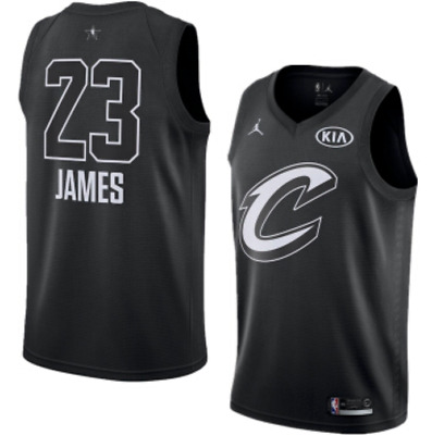 quality design 1f085 ff205 Lebron James 2018 All-Star Game Jordan Jersey Cleveland Cavaliers 928867  010 | eBay