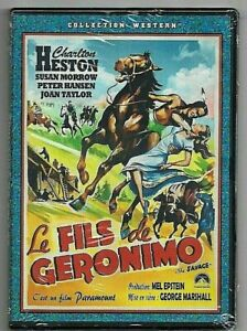 DVD - LE FILS DE GERONIMO (CHARLTON HESTON) WESTERN INTROUVABLE !!!
