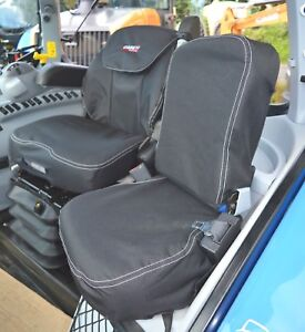 Case IH Tractor Waterproof Tough Tailored Black Seat Covers Puma CNH ...