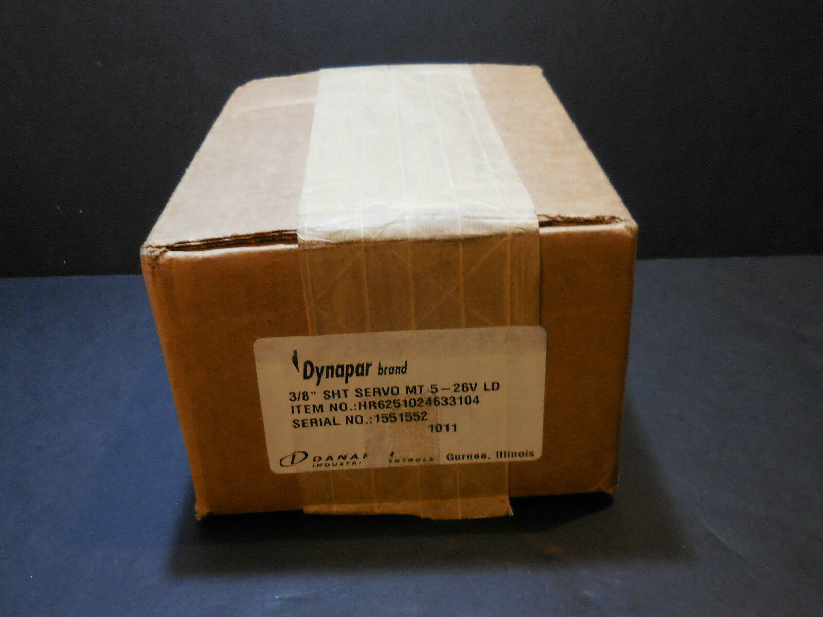 Dynapar Encoder Servo Motor HR6251024633104 MT 5-26V LD 3 8  shaft BRAND NEW
