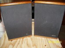 VINTAGE (Mid 80's) PAIR OF BABY ADVENT Speakers EXC- w/grills REFOAMED