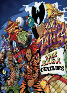 N0547 Wu-Tang Clan The Saga Continues 2017 Album Art Cover ...