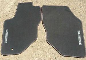 New Oem Floor Mats For Ford Taurus Medium Dark Graphite Gray Front 96 97 98 07 Ebay