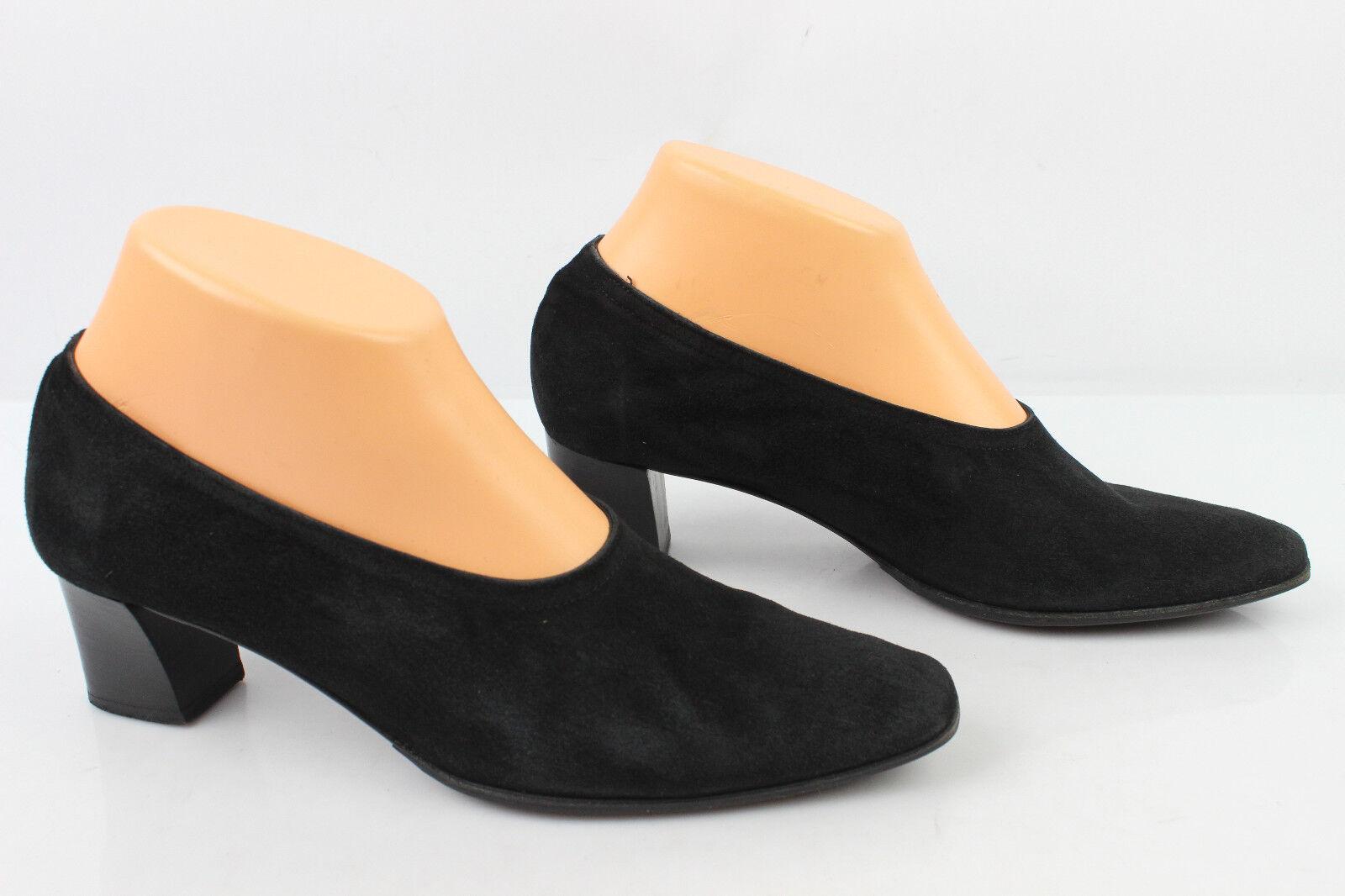 Court shoes JEAN-PAUL BARRIOL All Leather Suede Flexible Black T 37