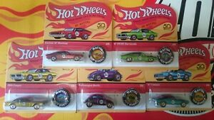 Hot-Wheels-50Th-anniversary-Redline-Button-Choise-Choix-lot-ou-a-l-039-unite-N21