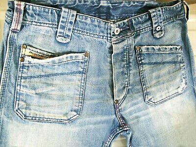 Hot Autentico Para Hombres Diesel Moorix 796 Relajada Pierna Recta Jeans De 7 Paquetes De 31 X32 Ebay