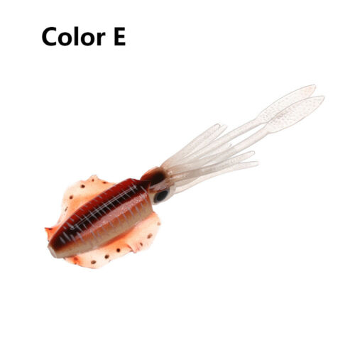 Artificial long tail  Saltwater Octopus Bait Fishing Tackle Squid Skirt Lure