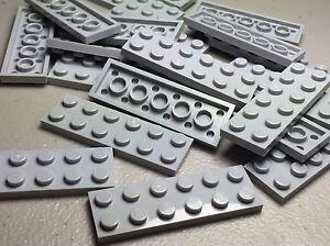 Lego 50 New Light Gray Plates 2 x 2 Dot Pieces