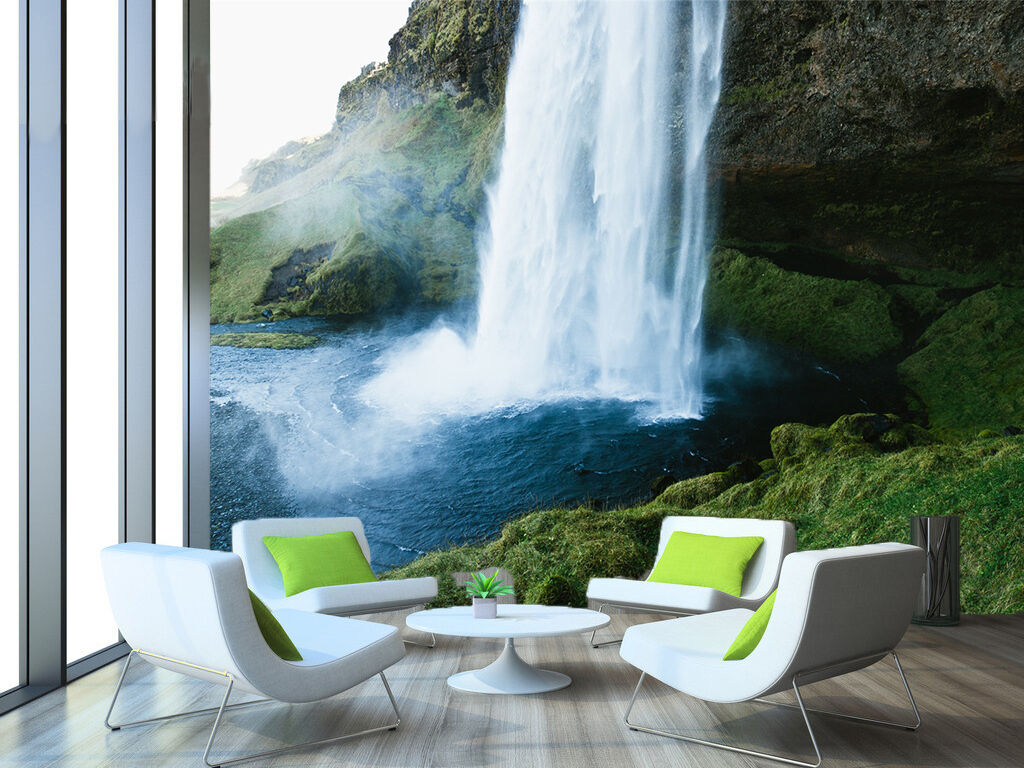 3D Waterfall Scenery 1211 Paper Wall Print Wall Decal Wall Deco Indoor Murals