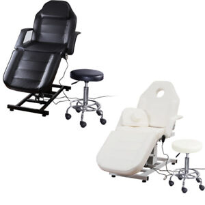 electric massage table chair beauty bed manicure pedicure tattoo