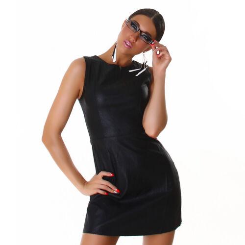 38 sexy blogueurs Wow robe Wetlook cuir Mini M Robe Uqx8F4wSt