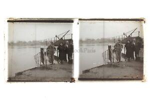 Francia-Foto-Amateur-Francesi-Stereo-Placca-Da-Lente-Positivo-Vintage