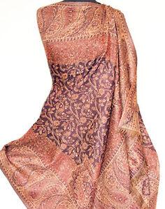 Large-Wool-Paisley-Jamavar-Shawl-Navy-Blue-Jamawar-Great-Gift-Pashmina-Style