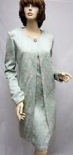St JOhn Knit NWT Julep Multi Blue Shimmer Jacket Coat Dress Suit SZ 4 6 $2590