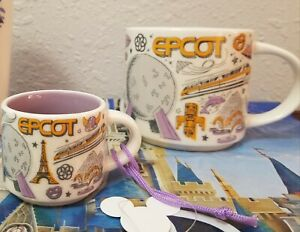 Details About Starbucks Mug Ornament Set Epcot Been There Coffee Walt Disney World Parks Nib