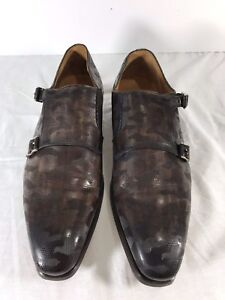 MAGNANNI-Perforated-Brown-Leather-Double-Monk-Strap-Made-in-Spain