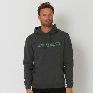 Animal-Driver-Mens-Hoodie-Adults-Hoody-Colour-DARK-CHARCOAL-MARL