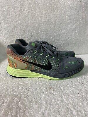 Experto esperanza Misterioso  Nike Women's Size 8 Blue Gray Green Lunarglide 7 Running Shoes Model  747356-403 | eBay