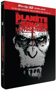 DAWN-of-the-PLANET-of-the-APES-3D-blu-ray-Metalpak-4-disc-set-NEW