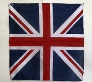 55-9cmx55-9cm-GB-Reino-Unido-Bandera-algodon-BANDANA