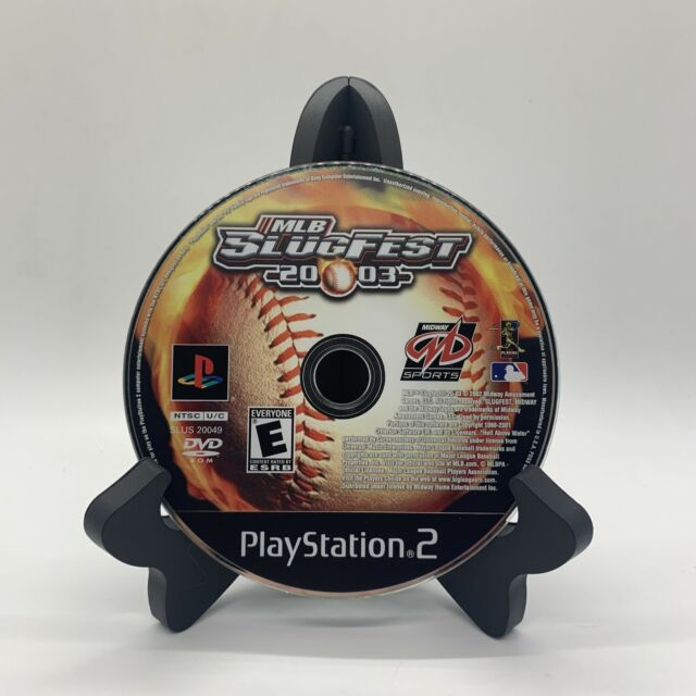 MLB SlugFest 2003 PS2 Disc Only Tested Sony PlayStation 2 Ps2 Game Good Baseball