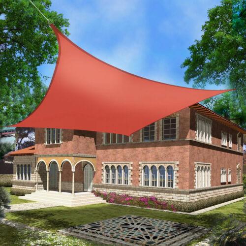 Sun Shade Sail Garden Patio Sunscreen Awning Canopy Screen 98/% UV Block Outdoor