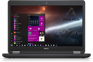 Dell Latitude Business Gaming Laptop Windows 10 Intel Core i5 16GB RAM 256GB SSD