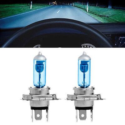 2 x Super White Car H4 HID Xenon Headlight 12V 55W 100W Halogen Bulb Lamp Light