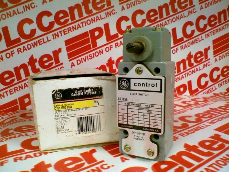 GENERAL ELECTRIC CR115G104   CR115G104 (USED TESTED CLEANED)