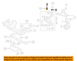 MAZDA-OEM-CX-9-Rear-Suspension-Front-Lateral-Arm-Adjust-Cam-Right-F15134473