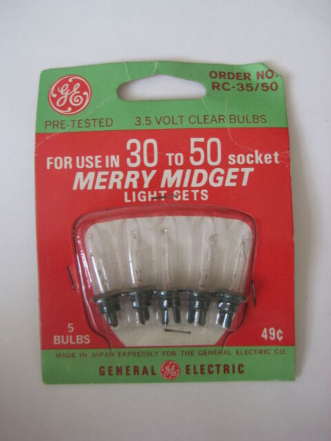 Bulbs midget replacement christmas