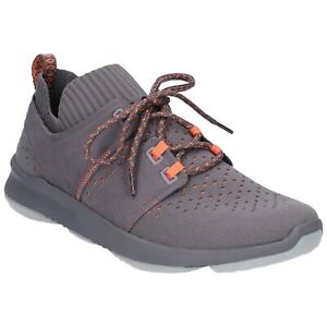 Details about Hush Puppies World BounceMax Trainers Mens Sports BioDeWix  Knit Sneakers Shoes