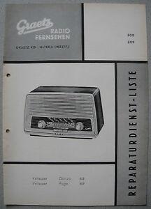 ITT-GRAETZ-Danza-808-Page-809-Service-Manual