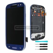 For Samsung Galaxy S3 i9300 LCD Touch Screen Digitizer Display Assembly Blue UK