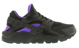 Image is loading 2014,Women,Junior,Nike,Air,Huarache,Black,Purple,