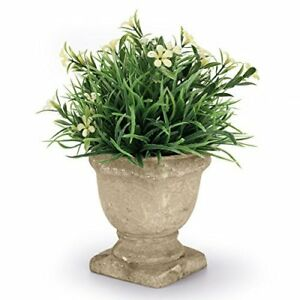 Small Artificial Plastic Potted Plants For Home Decoration Yellow