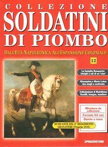 FASCICOLO-COLLEZIONE-SOLDATINI-DI-PIOMBO-N-12-LA-FAMIGLIA-BONAPARTE-DeA