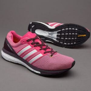 5044b513a46278 ADIDAS ADIZERO BOSTON 5 BOOST WOMENS LADIES RACE RUNNING TRAINERS ...