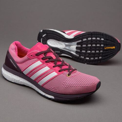 ADIDAS ADIZERO BOSTON 5 BOOST WOMENS LADIES RACE RUNNING TRAINERS SHOES UK 7 7.5