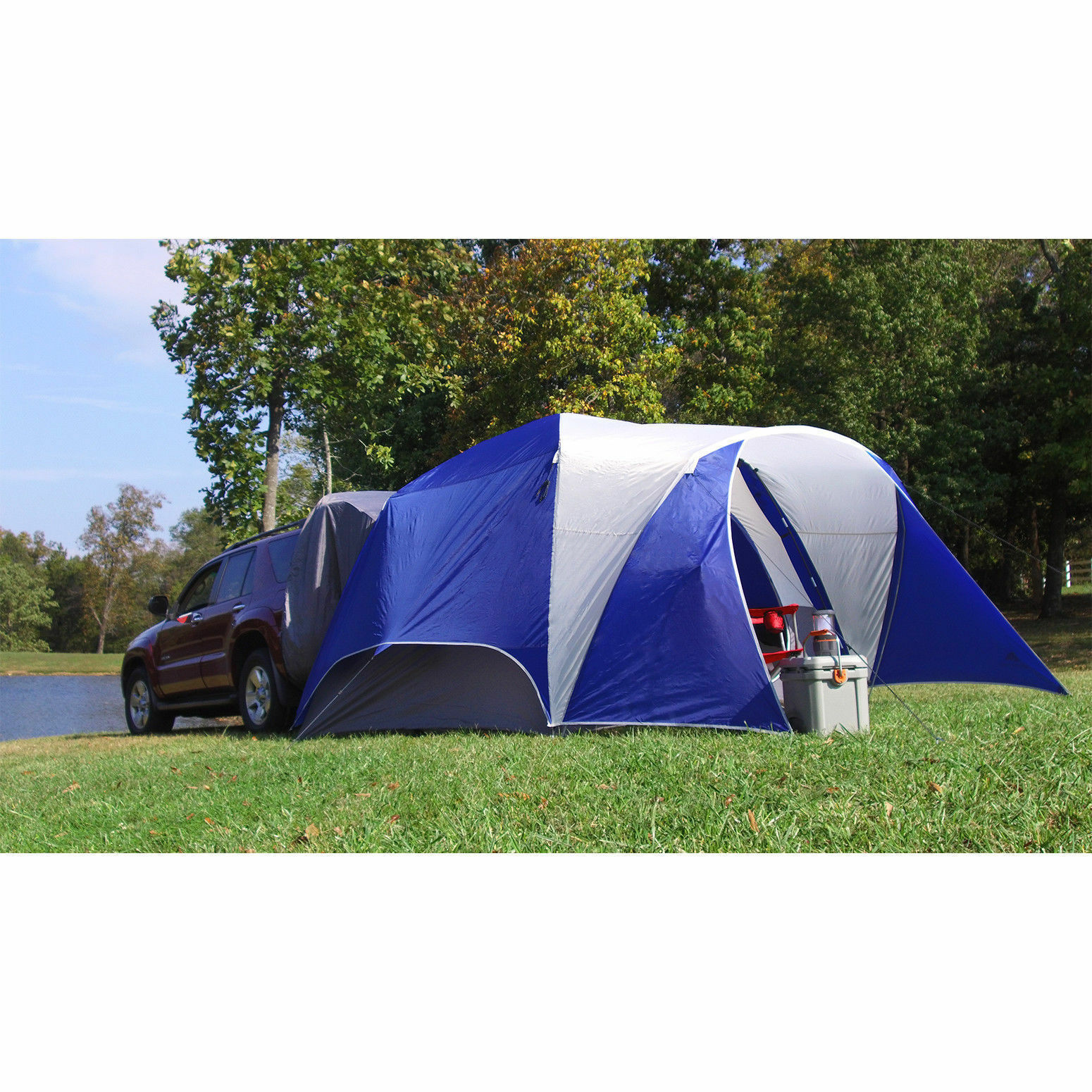 Ozark Trail 5-Person SUV Zelten Camp Hike Outdoor Car Auto Sleep Family Camping