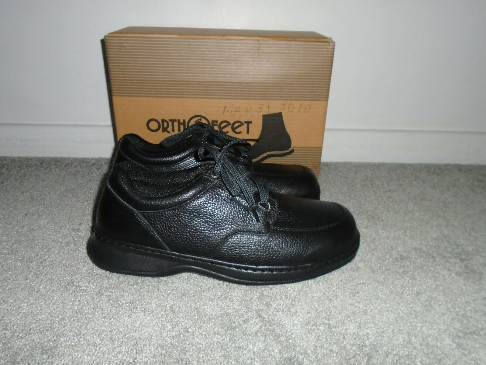 Orthofeet 410 Men's Comfort Diabetic Therapeutic Extra Depth shoes 11 1 2 Medium