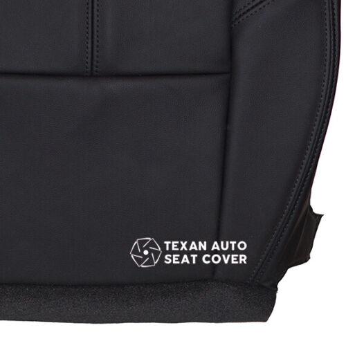 2009 Chevy Silverado 3500 HD Single Cab Driver Bottom Leather Seat Cover Black