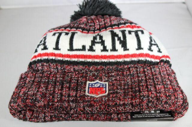 Multi Colour BNWT New Era Onfield NFL18 Atlanta Falcons Bobble Ski Hat