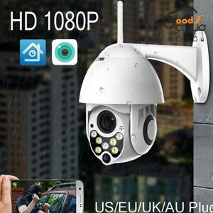 1080P-PTZ-Mini-WIFI-Outdoor-Dome-IP-Camera-Wireless-HD-CCTV-Waterproof-Audio