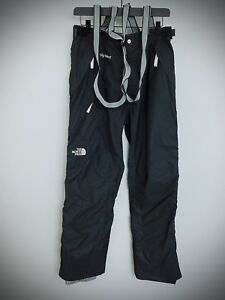 XII216-Women-The-North-Face-HyVent-Skiing-Snowboarding-Salopettes-L-W36-L31