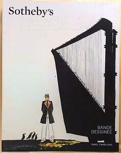SOTHEBY-039-S-Catalogue-de-vente-Bandes-dessinees-7-mars-2015-Excellent-etat